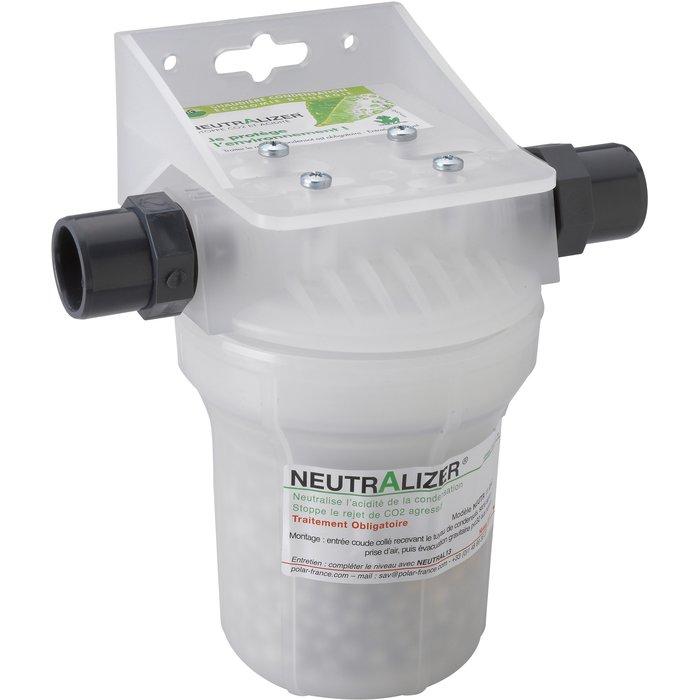 Neutralizer de condensats compact - Pour chaudière gaz murale