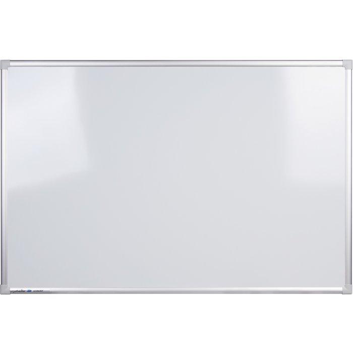 Tableau blanc magnétique - Acier - Blanc laqué