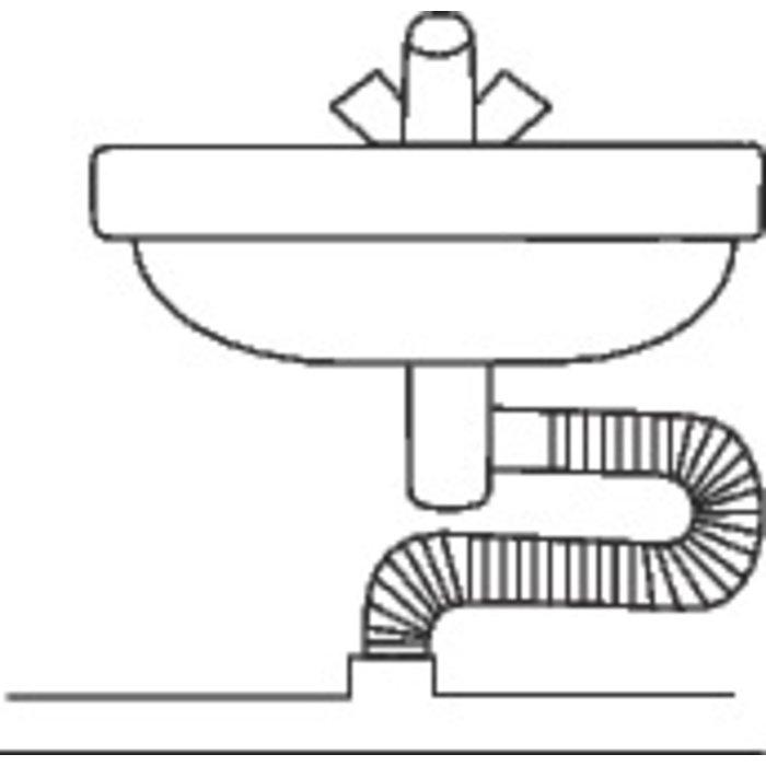 Flexible d'évacuation - Longueur 20 m-1