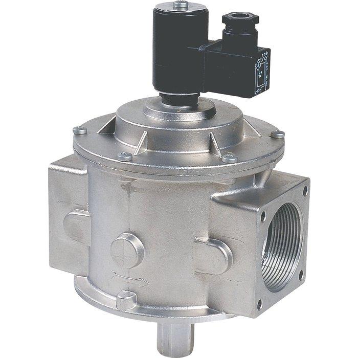 Electrovanne gaz à réarmement manuel - Pression de sortie 500 mbar-2