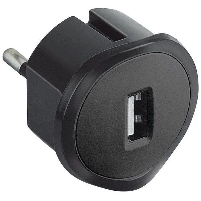 Chargeur adaptateur USB - Sur prise de courant - Spécial encombrement réduit-2