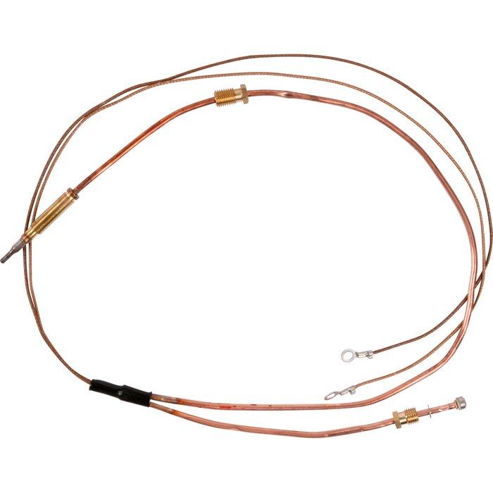 Thermocouple avec dérivation - Pour chaudière Frisquet-1