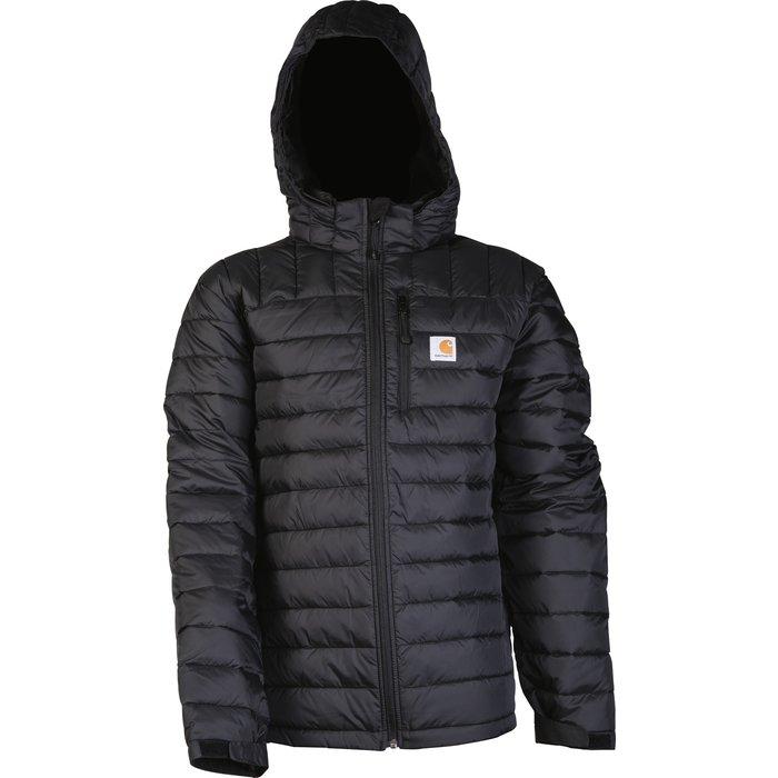 Blouson de travail matelassé Northman Jacket - Capuche amovible - Nylon - Noir-1