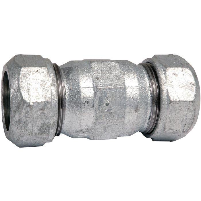 Manchon à serrage extérieur - Fonte galvanisée - Femelle-1