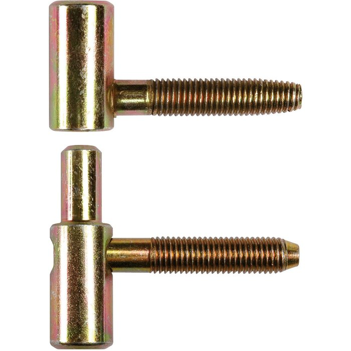 Fiche réglable Exacta - 2 broches - Hauteur de 54 à 59 mm