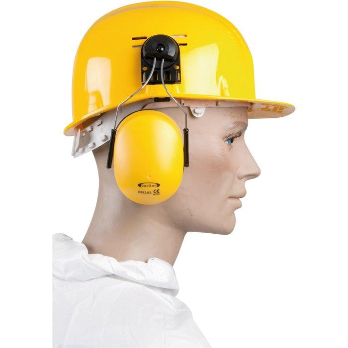 Coquille anti-bruit pour casque de chantier - Avec adaptateur - Réduction sonore 23 dB-4