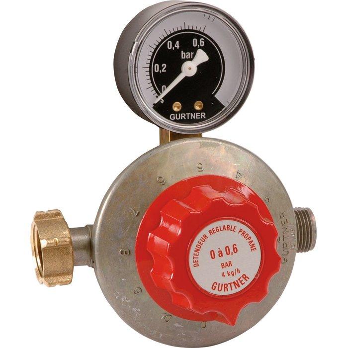 Détendeur gaz propane réglable - Basse pression-1