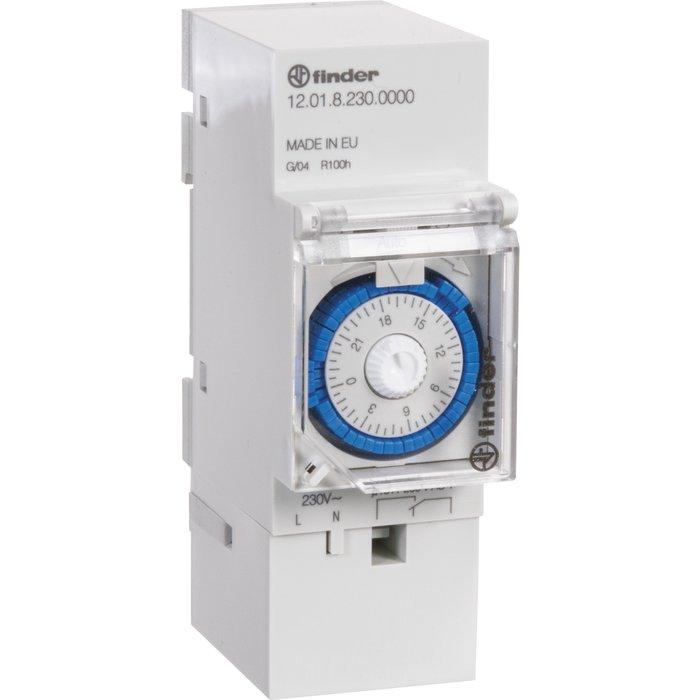 Interrupteur horaire à segments - Série 12.01 - 2 modules