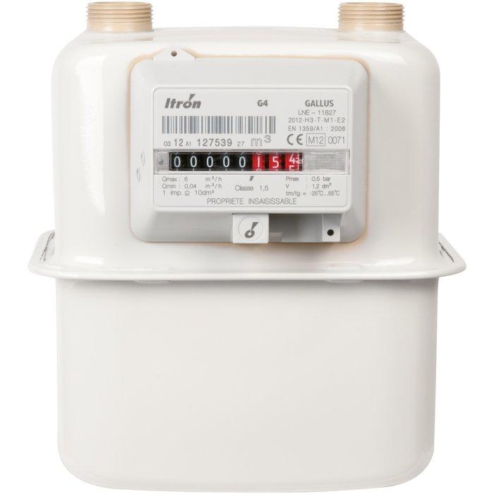 Compteur gaz G4 - Filetage mâle