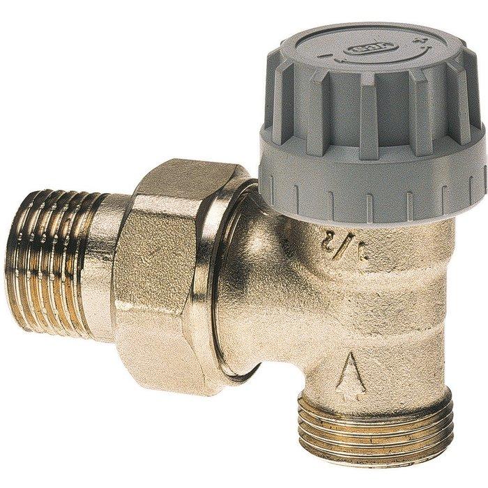 Robinet thermostatique Senso M28 de radiateur - Équerre - Mâle-1