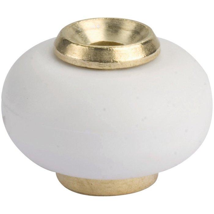 Butoir de porte standard - Laiton - Diamètre 30 mm