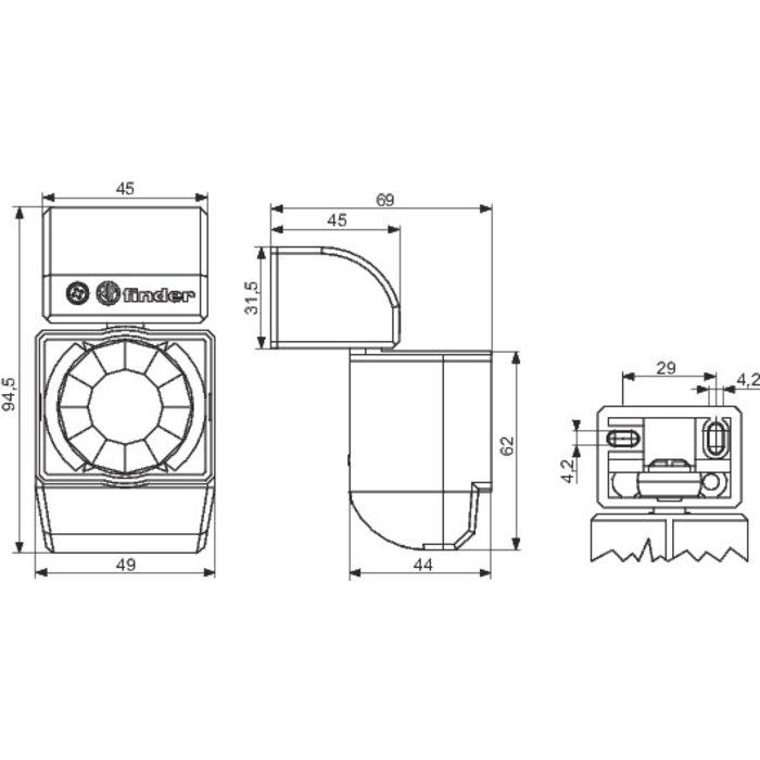 Détecteur de mouvement Série 18.01 - Blanc-1