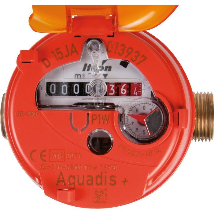 Compteur d'eau divisionnaire volumétrique Aquadis+ - Eau chaude-2