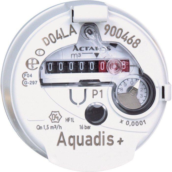 Compteur d'eau divisionnaire volumétrique Aquadis+ - Eau froide-2