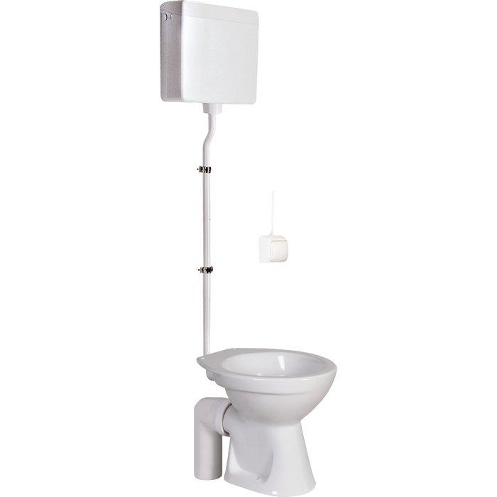 Pack WC à réservoir haut pneumatique - Spécial collectivité