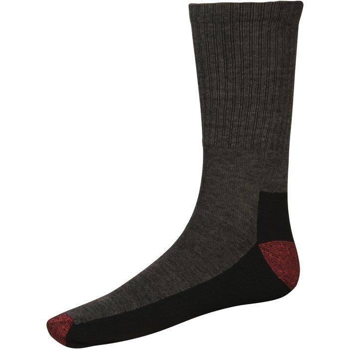Paire de chaussettes Cushion Crew - Lot de 5 - Coton / Polyester - Taille 41-45