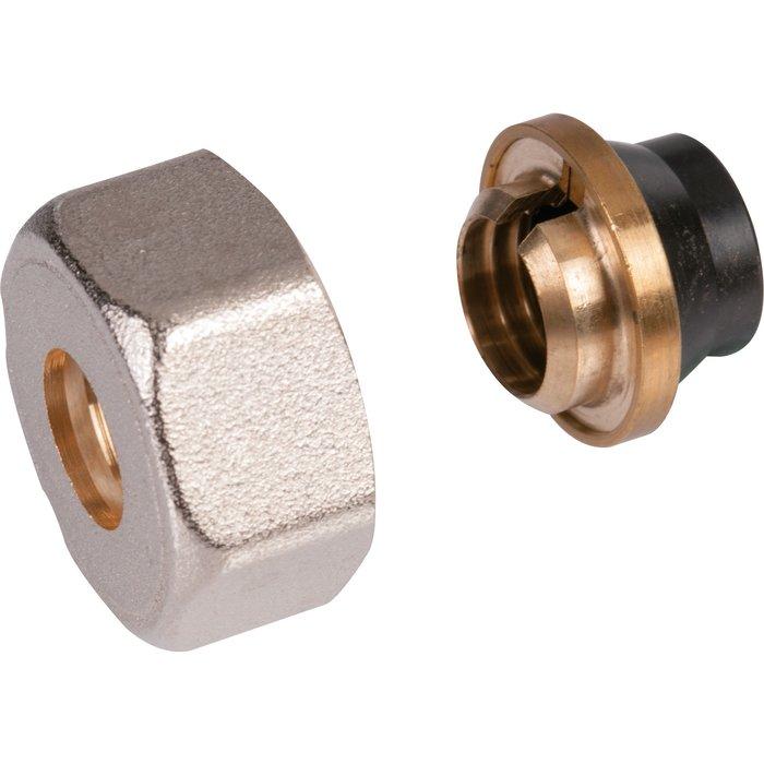 Raccord de radiateur - Pour tube cuivre recuit et écroui - Femelle-1