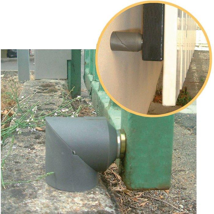 Butée de portail magnétique - Matériau composite
