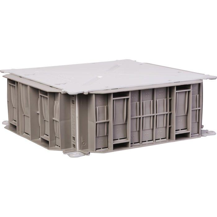 Boîte pavillonnaire de dérivation - 46 entrées - Dimension 200 x 200 mm-1