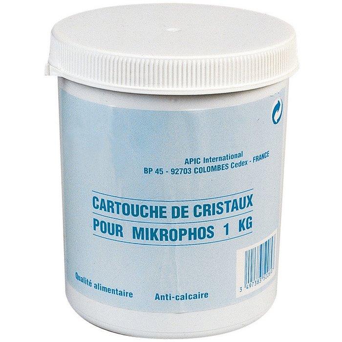 Recharge cristaux polyphosphate pour filtre anti-calcaire Mikrophos