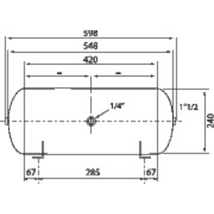 Capacité tampon gaz-1