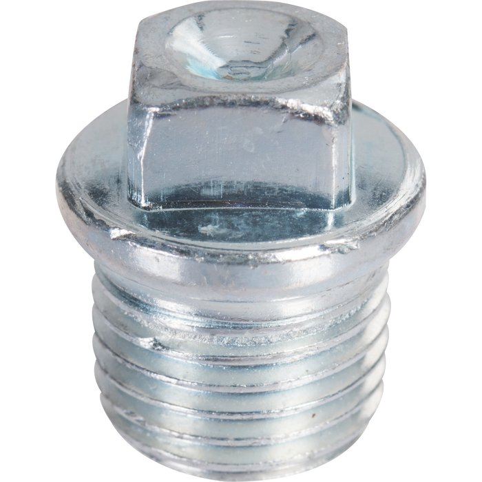 Bouchon à collerette - Fonte galvanisée - Mâle - 290