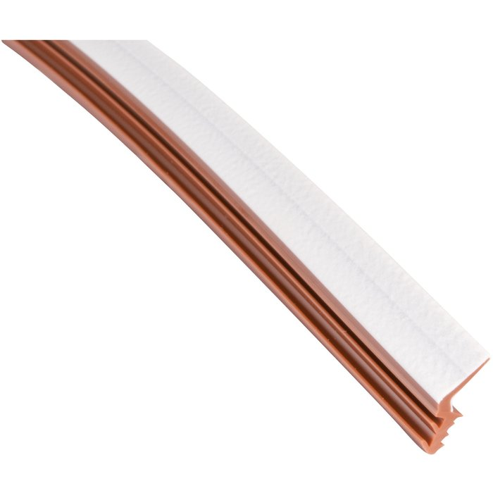 Joint pour largeur de rainure 3 mm - PVC - Brun - Longueur 100 m