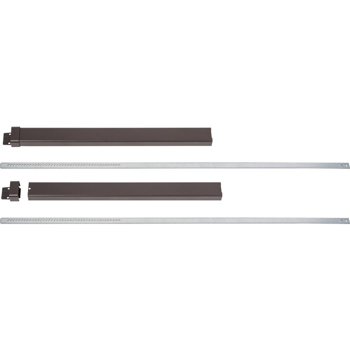 Kit de rallonge - Pour serrure en applique Beluga CP - Marron-1