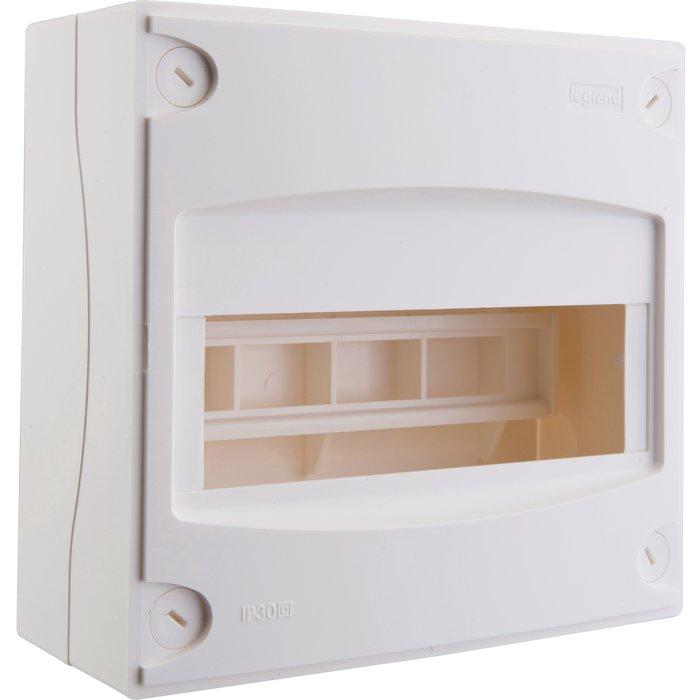 Coffret mini Ekinoxe - 8 / 9 modules - Dimension 190 x 180 x 83 mm-1