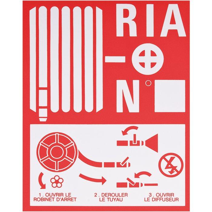 Plaque de signalisation RIA