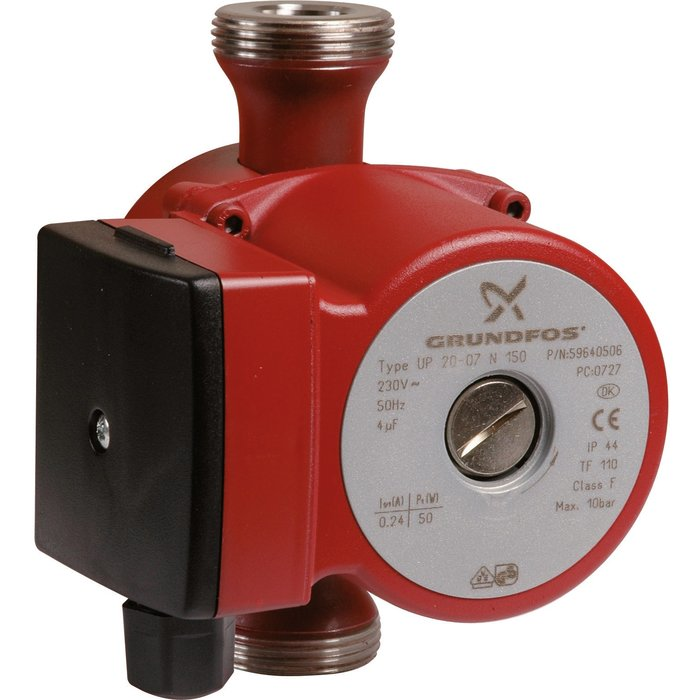 """Circulateur pour eau chaude sanitaire UP-N - Entraxe 150 mm - Mâle / Mâle - Filetage 1""""1/4"""