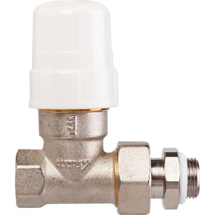 Robinet thermostatisable de radiateur - Droit - Femelle-1