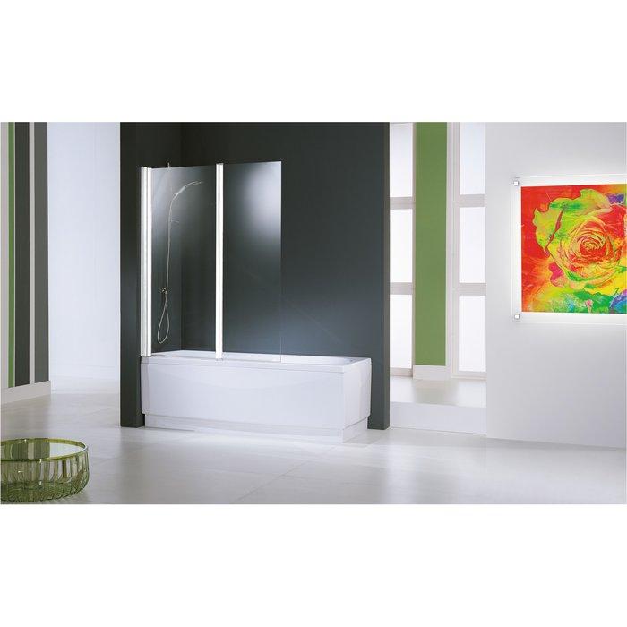 Pare-baignoire mobile Aurora - Fixation réversible-2