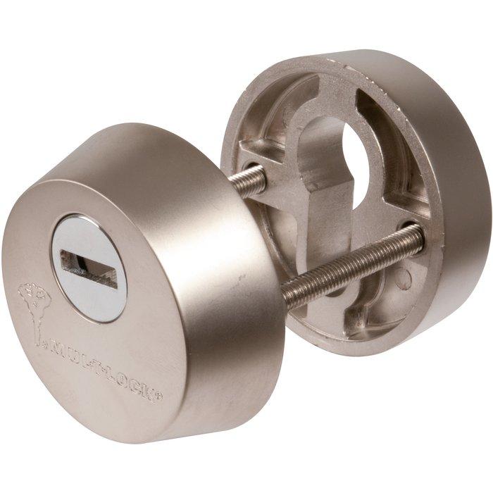 Protecteur de cylindre blindé - Nickelé