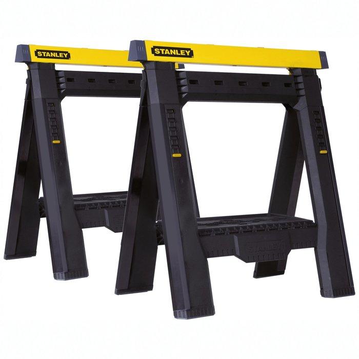 Tréteau d'atelier ajustable en hauteur et largeur - Charge maximale 450 kg