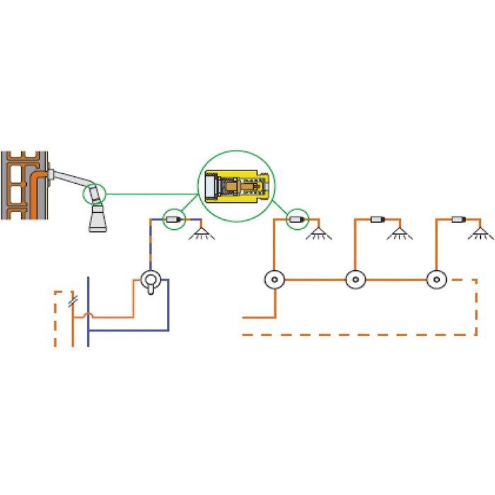 Raccord thermostatique - Sécurité anti-brûlure-2
