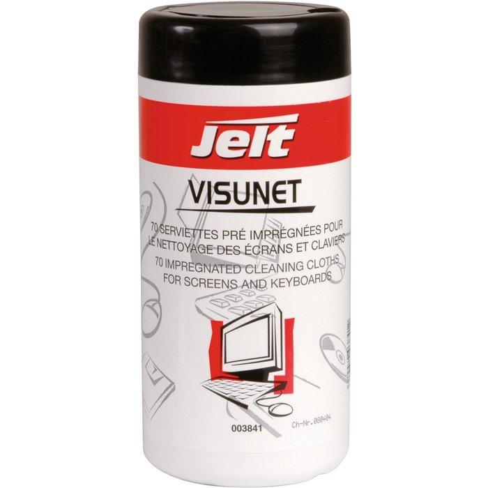 Lingettes Visunet - Pour entretien bureautique-1