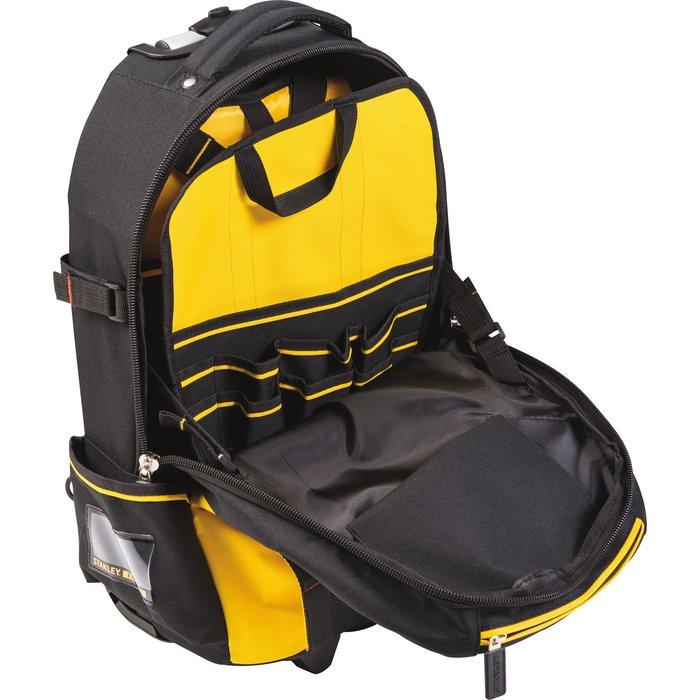 Sac à dos porte-outils à roulette - Nylon - Capacité 28 l-4