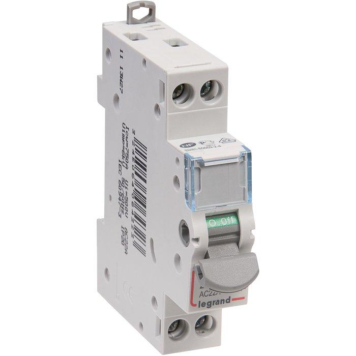 Interrupteur sectionneur DX³-IS - Tension 400 V - 1 module