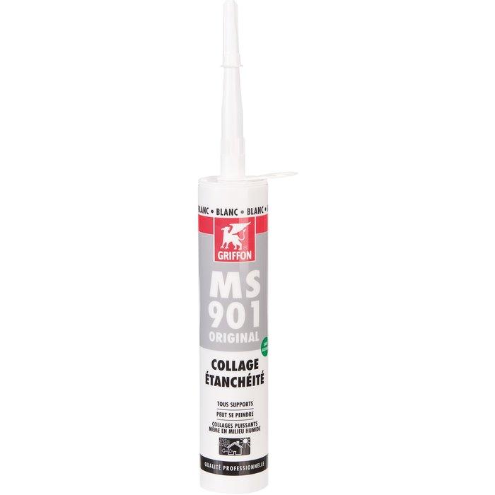Mastic d'étanchéité MS 901 Original - Blanc - Ultra-polyvalent-1