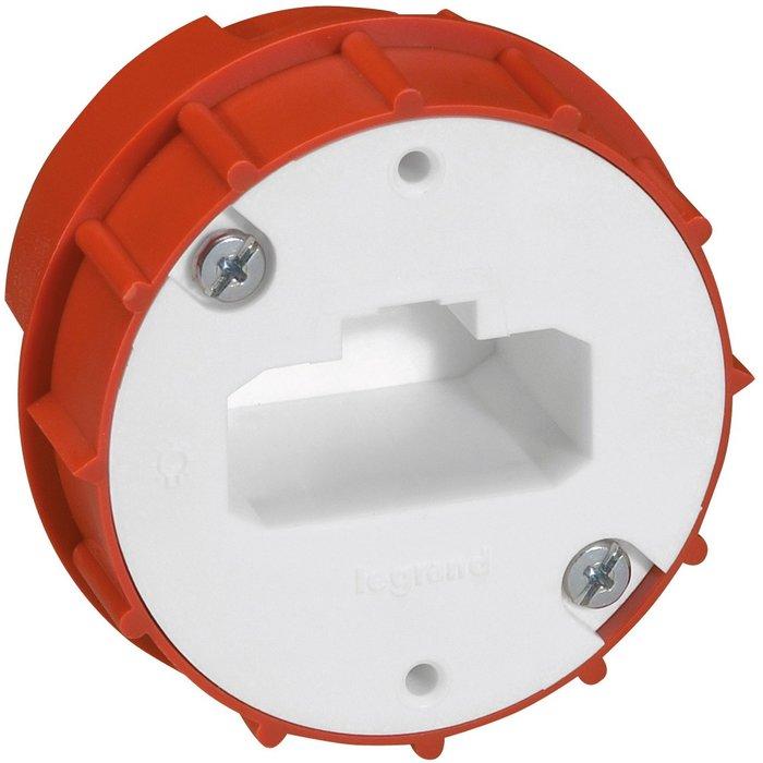 Boîte luminaire DCL - Pour applique - Avec couvercle - Profondeur 40 mm-1