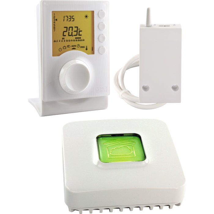 Kit thermostat programmable connecté Tybox 137-1