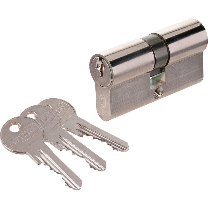 Cylindre à 2 entrées - À panneton spécial - Nickelé-1
