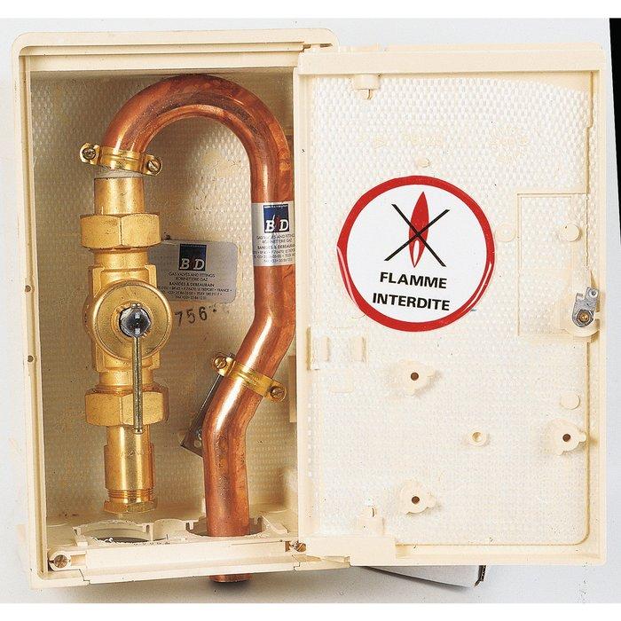 Coffret privatif de coupure de gaz