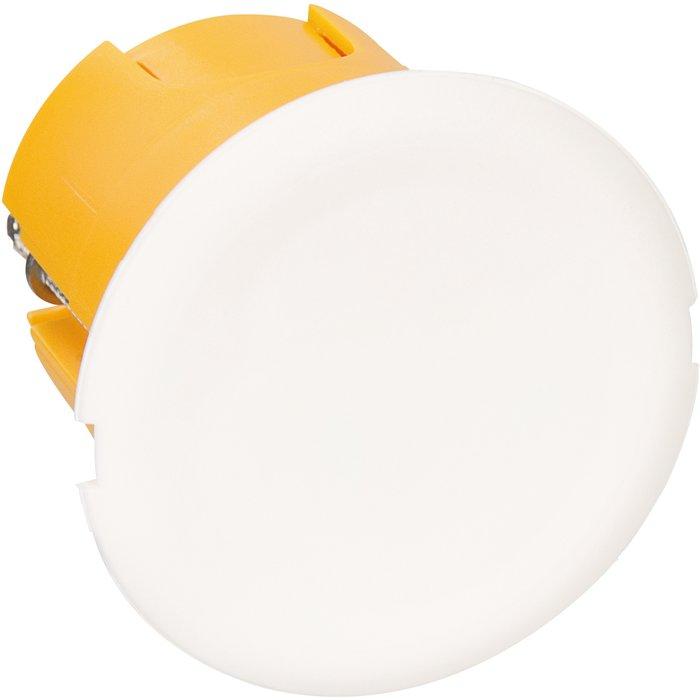 Boîte luminaire de finition - Cloison sèche - Avec couvercle - Pronfondeur 40 mm-1