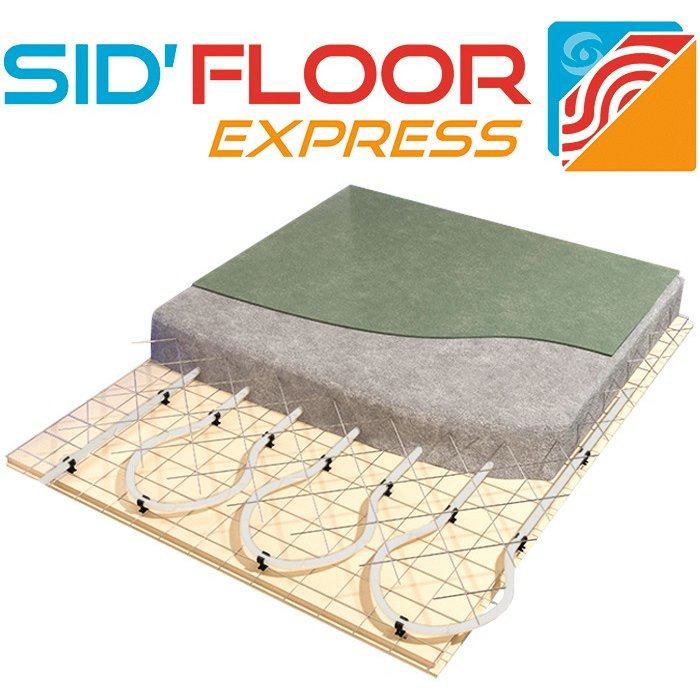 Pontet de fixation pour plancher chauffant - Plastique - Dimension 75 x 28 mm-2