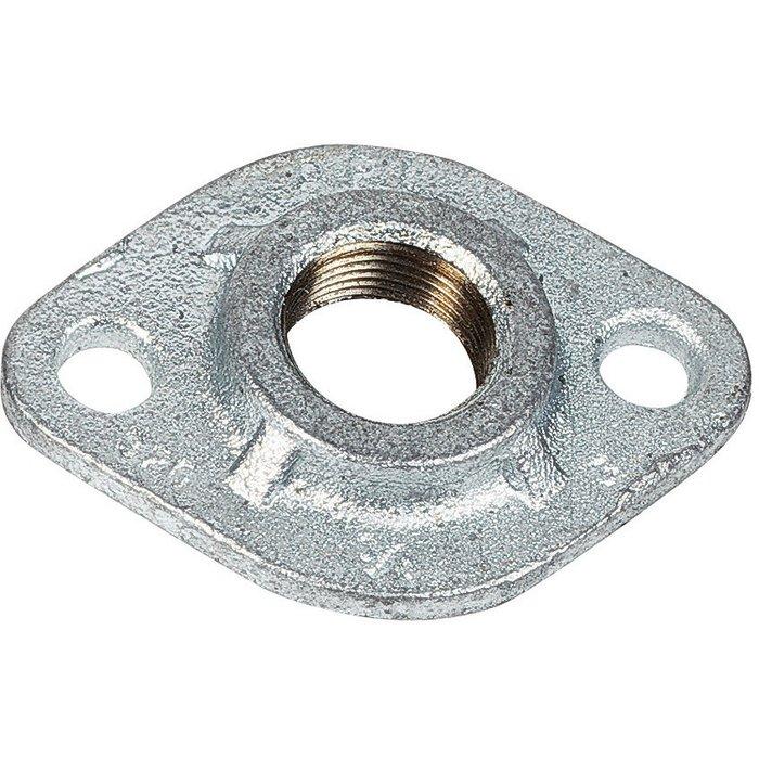Bride ovale - Fonte galvanisée - Femelle - 320-1