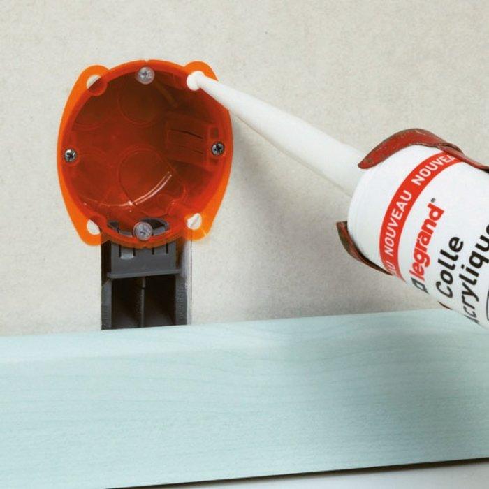 Colle pour boîte d'encastrement Batibox multimatériaux - Contenance 310 mL-2