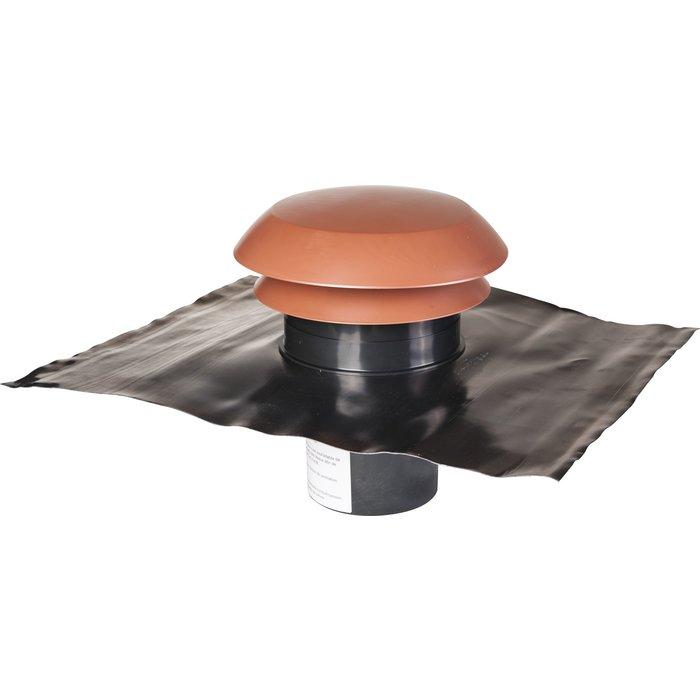 Chapeau de toiture Cara pour rejet et prise d'air VMC - Plastique