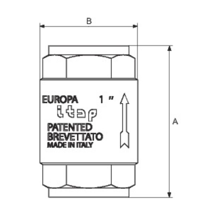 Clapet Europa - Laiton-1